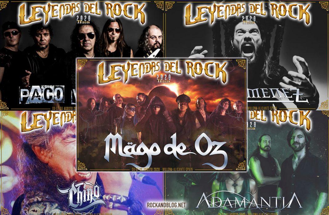 leyendas del rock 2020 magod e oz
