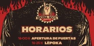 horarios escena rock fest