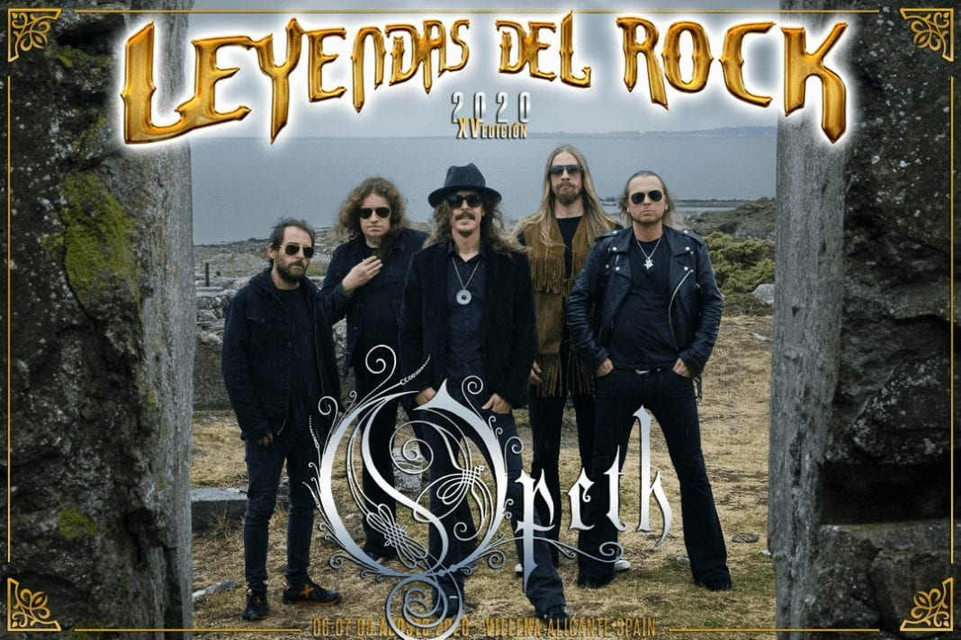Opeth Leyendas del Rock