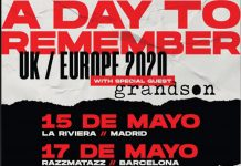 a day to remember spain 2020