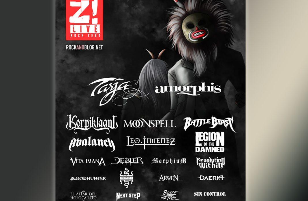 cartel completo z live rock fest 2020