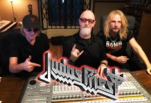 judas priest en el estudio 2020