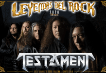 Testament leyendas del rock
