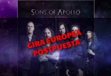 sons of apollo gira postpuesta 2020