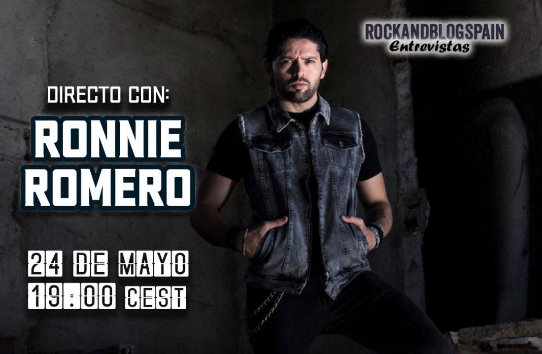 entrevista Ronnie Romero Rock and Blog