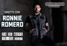 entrevista Ronnie Romero Rock and Blog