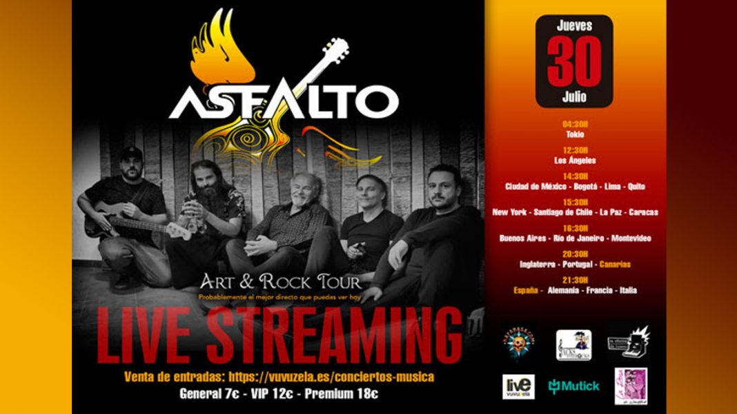 concierto asfalto streaming