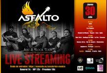 concierto asfalto streaming