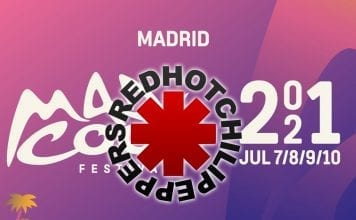 ed hot chili peppers madrid 2021