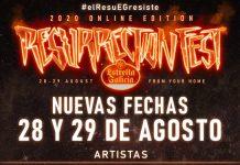 resurrection fest online agosto