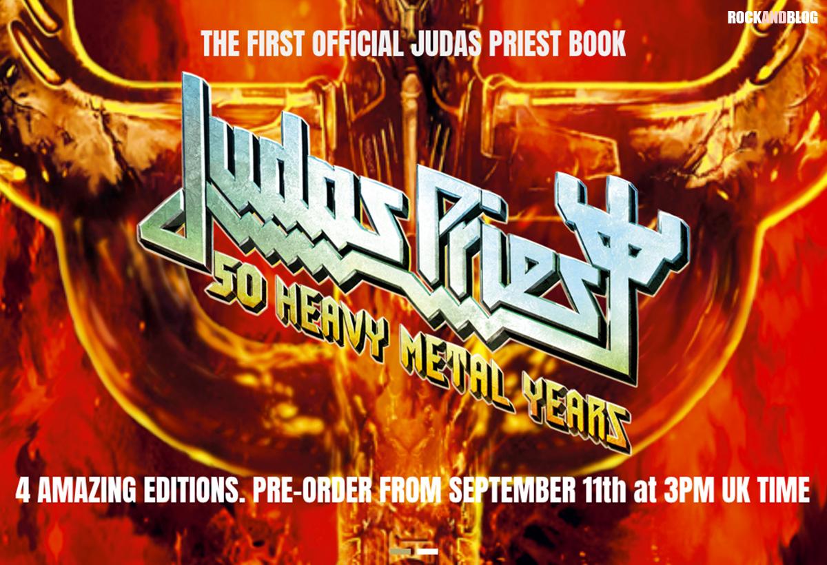 libro oficial judas priest