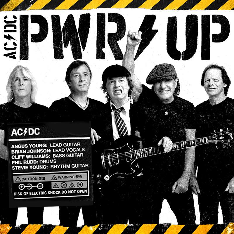 """AC/DC anuncia oficialmente """"PWR/UP"""" y su formación"""