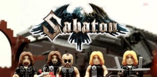 sabaton video lego