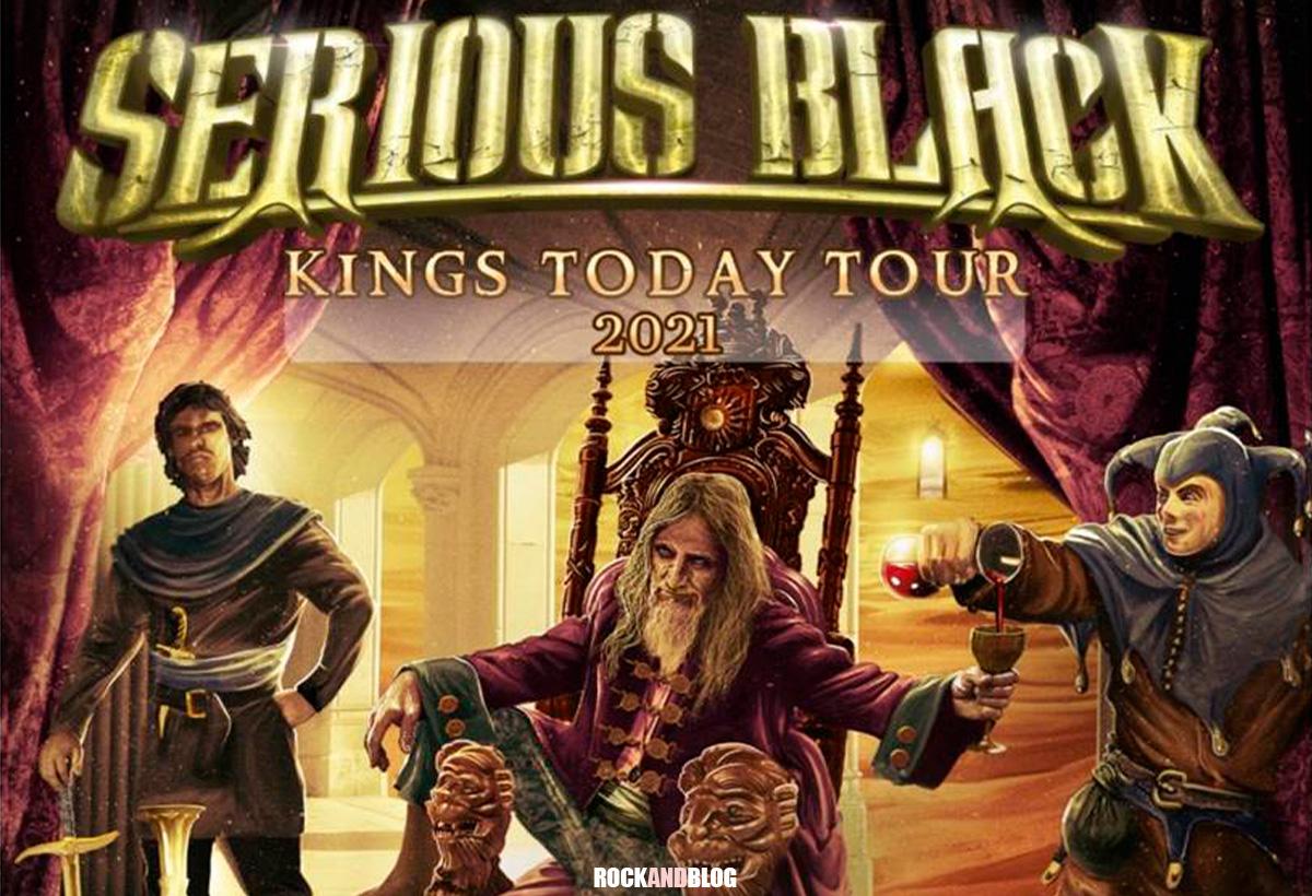 serious black gira noviembre 2021