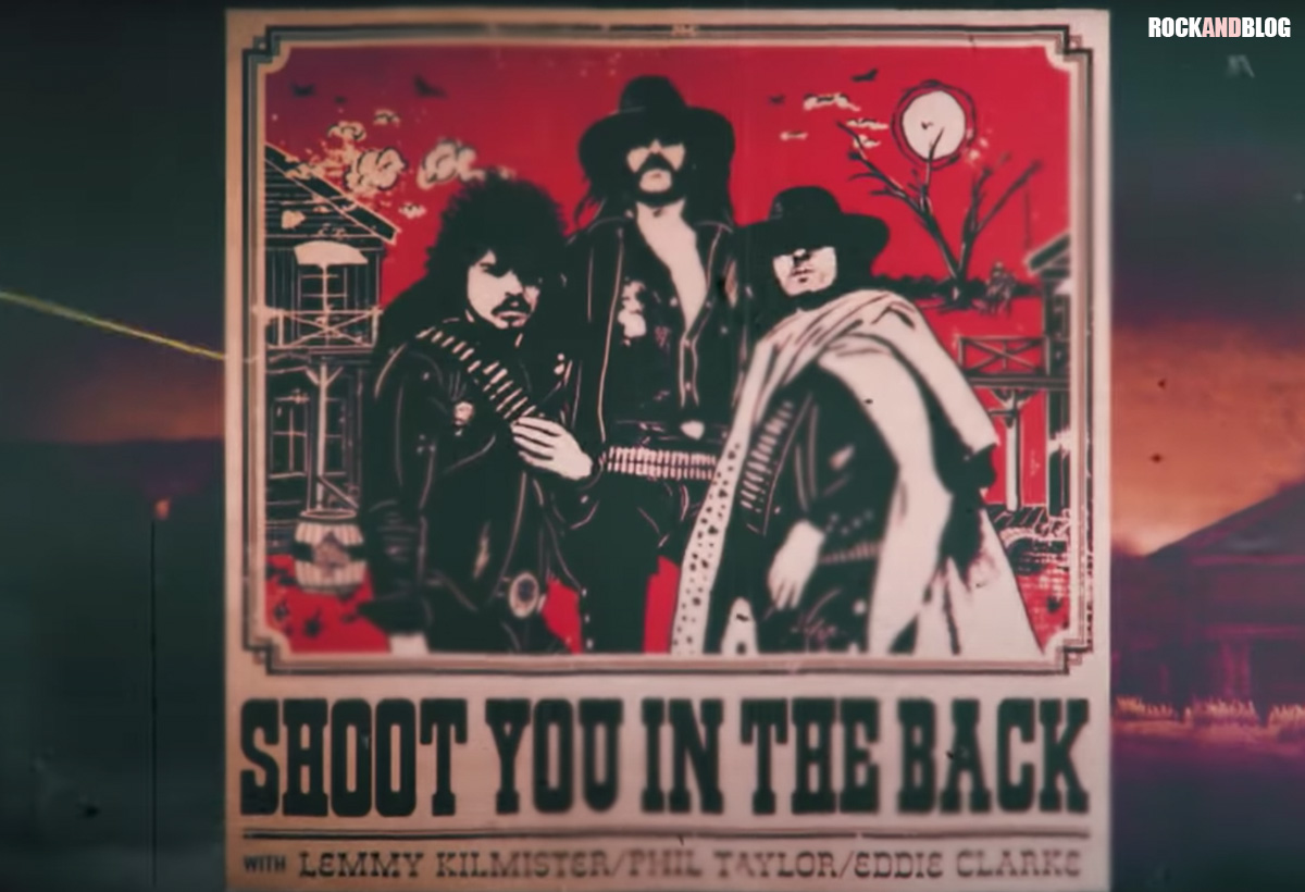 shoot you in the back motorhead 40 aniversario