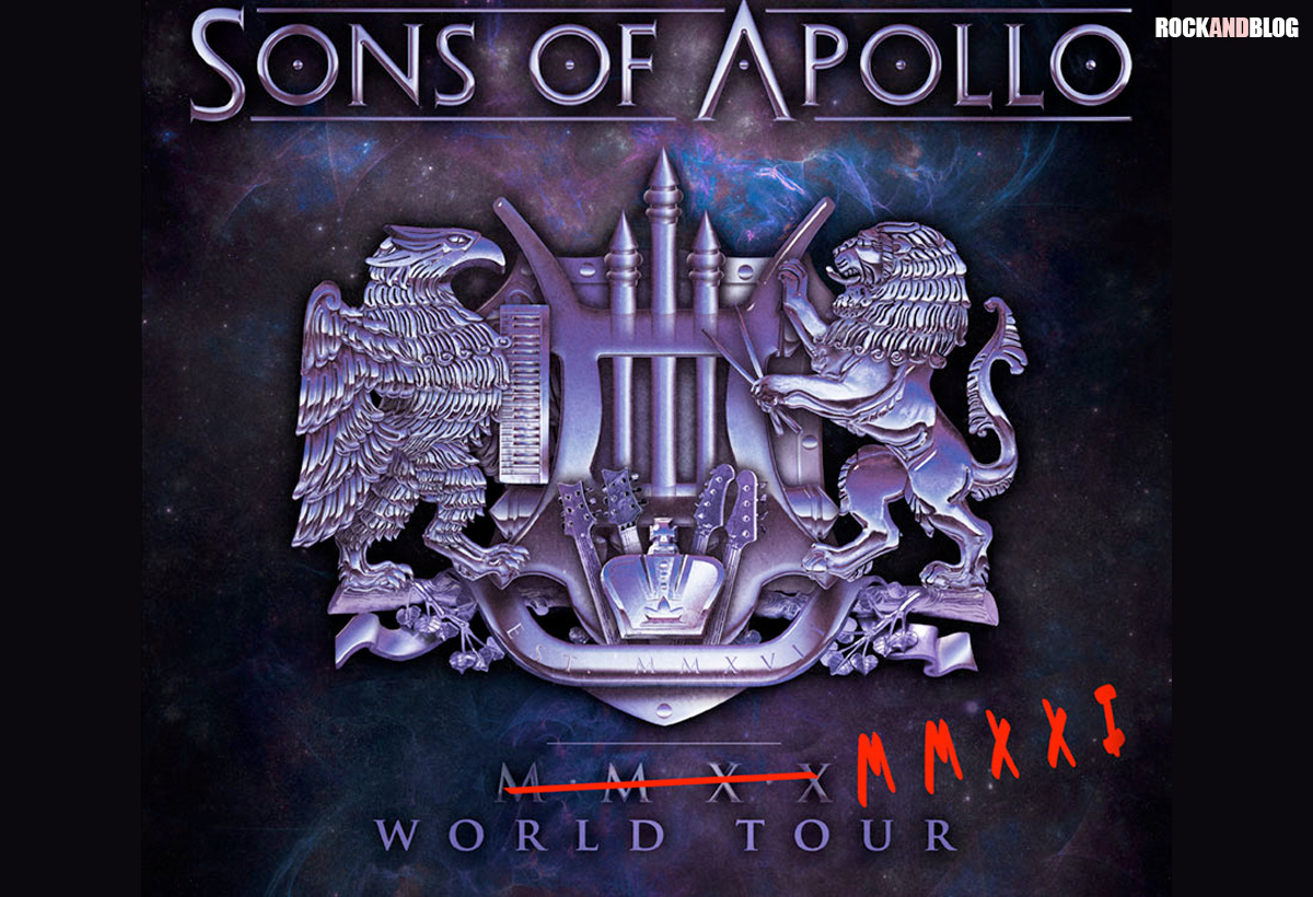 sons of apollo gira 2021 spain