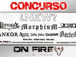 concurso on fire rock promo