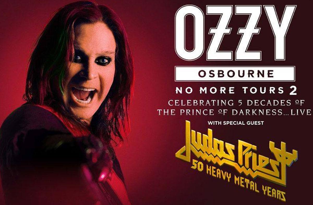 Cartel promocional de Ozzy Osbourne: No more Tours 2