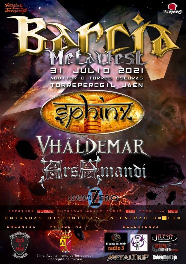 cartel barcia metalfest xv